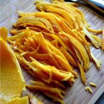 Kandyzowana skórka pomarańczowa + etykiety na słoiki