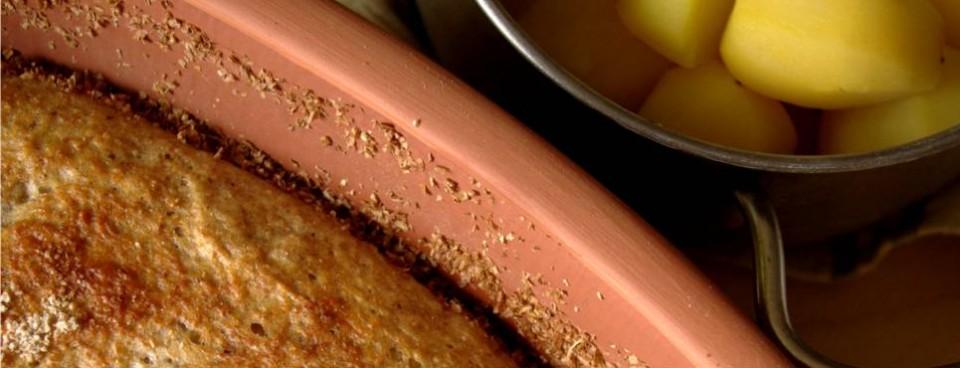 Chleb pszenno – żytni z dodatkiem ziemniaków