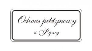 Etykiety odwar pektynowy z pigwy