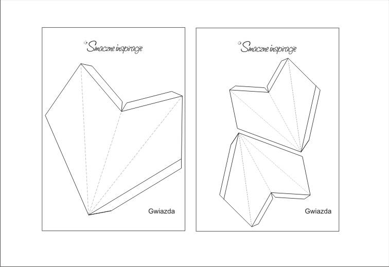 1_ Gwiazda papierowa podświetlana