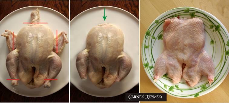 2_ Luzowany kurczak nadziewany wątróbką