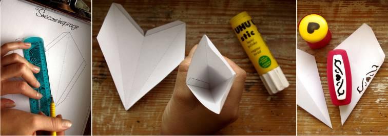 6_ Gwiazda papierowa podświetlana