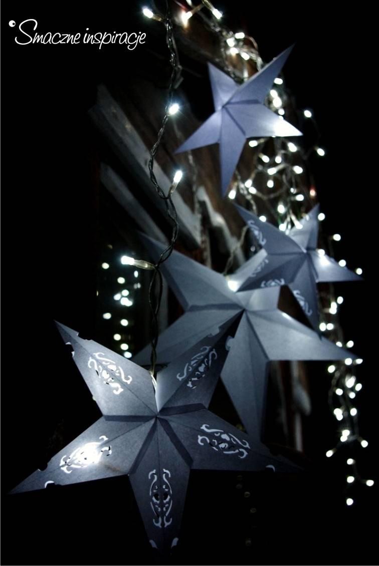 7_ Gwiazda papierowa podświetlana