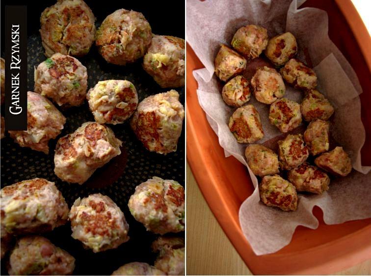 1_ Klopsiki w sosie grzybowym lub pomidorowym