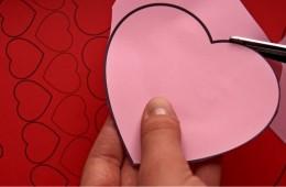 Walentynkowe kartki + arkusz z serduszkami do wycięcia