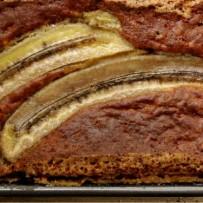 Ciasto bananowo – orzechowe (bez glutenu)