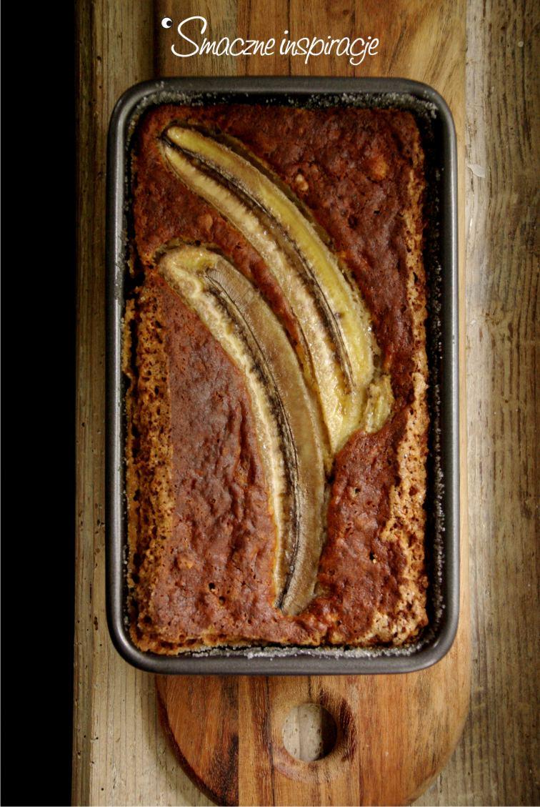 Ciasto bananowo orzechowe bez glutenu