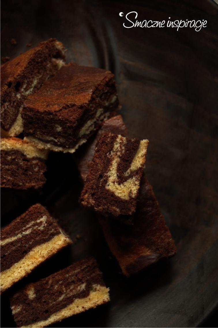 1_ Ciasto czekoladowo waniliowe _ bez glutenu