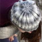 Czapka i ponczo – robótki na drutach na koniec 2015