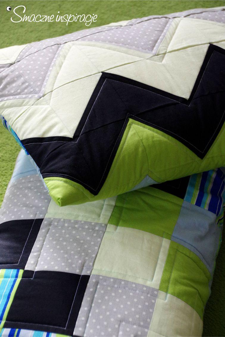 4_ Poduszka patchwork