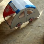 Jak zrobić autko z kartonu? (schemat do wydruku)