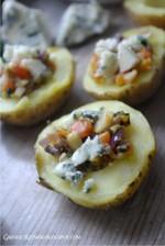 Ziemniaki nadziewane serem i warzywami