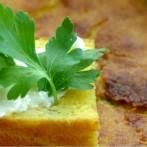 Chleb kukurydziany z pietruszką