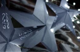 Gwiazda, papierowy klosz