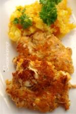 Kotleciki drobiowo – serowe (bez glutenu)