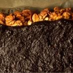 Mazurek pomarańczowo – daktylowy (bez glutenu)