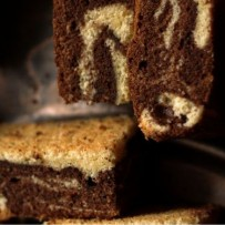 Zebra, ciasto czekoladowo – waniliowe (bez glutenu)