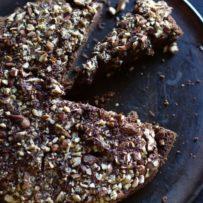 Ciasto czekoladowo dyniowe z migdałami (bez glutenu)