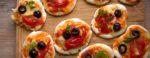 Mini pizze (bez glutenu)