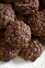 Czekoladowe ciasteczka owsiane (bez glutenu)